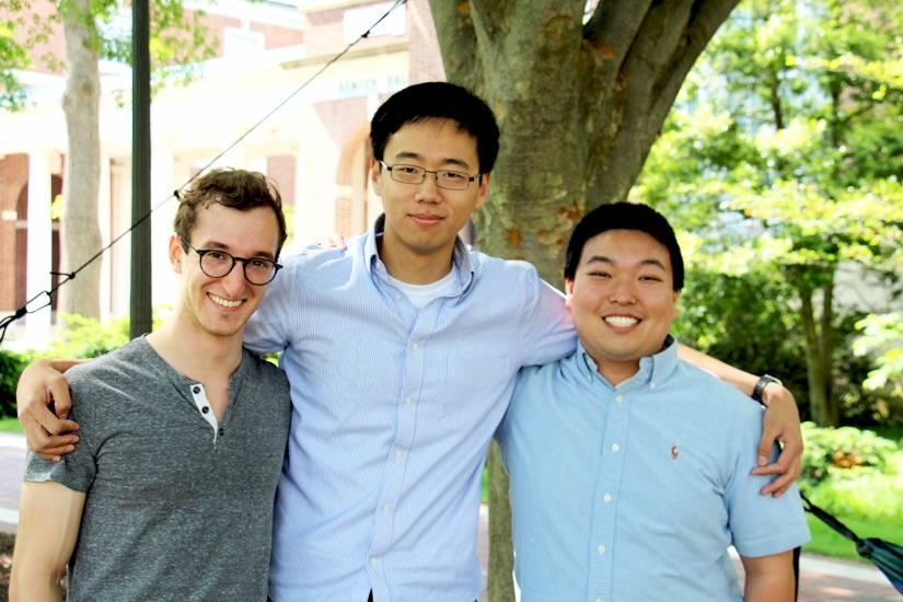 Eric Waelbroeck, Michael Sun, Jonathan Dong
