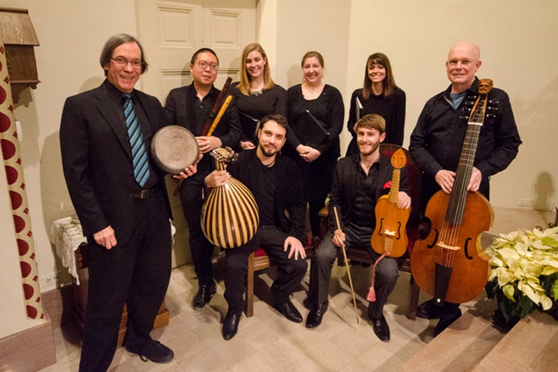 Peabody Consort group photo