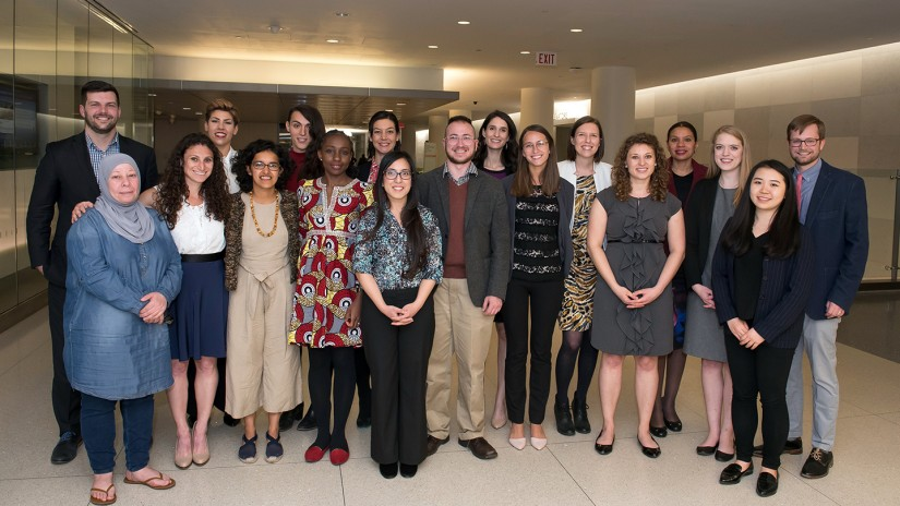 The full cohort of Social Innovation Lab participants