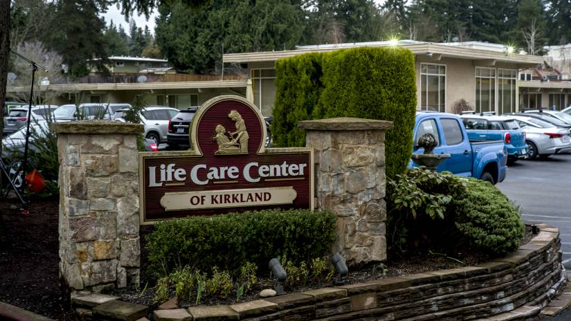 Exterior of Life Care Center of Kirkland