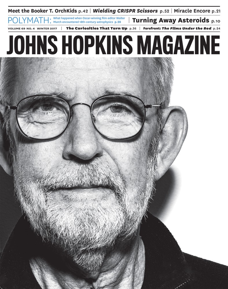 Johns Hopkins Magazine Quarterly magazine of the Johns Hopkins University