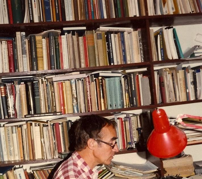 Robert Wilson in the Phoenix Bookshop in 1979