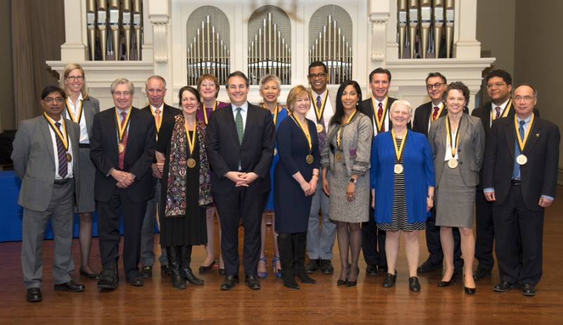 Johns Hopkins inducts 16 new members into Society of