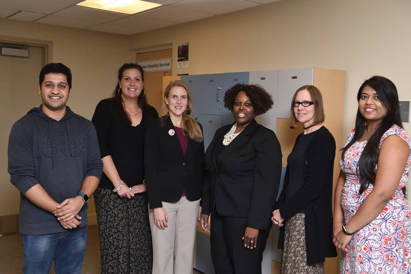The Student Disability Services team