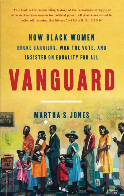 'Vanguard' book cover