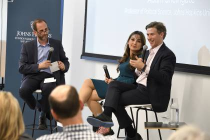 Two panelists speak at JHU