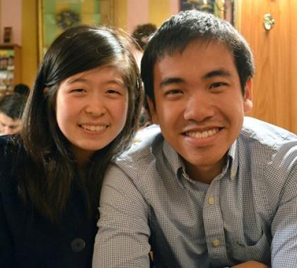 Stephanie and George Zuo