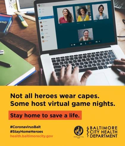 Baltimore public health billboard