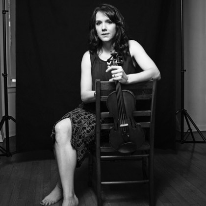Violinist Courtney Orlando