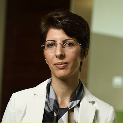Soudeh Ghorbani, associate professor of computer science