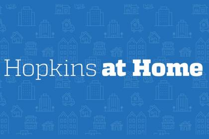 Hopkins at Home logo