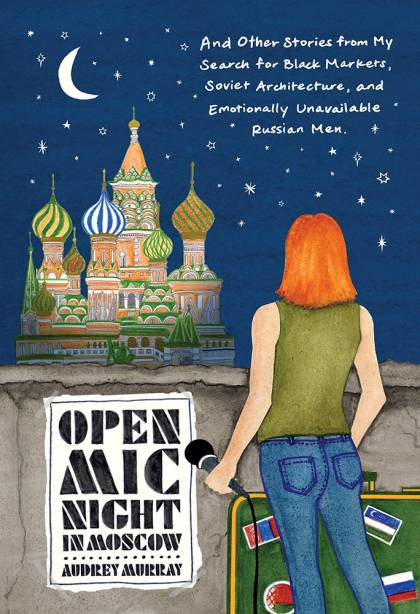 Cover for Open Mic Night in Moscow