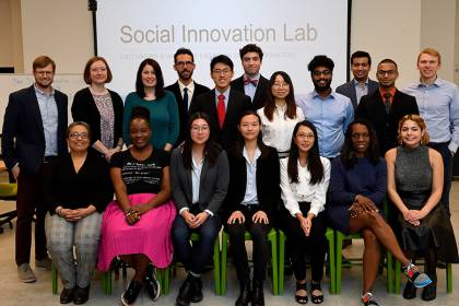 Social Innovation Lab cohort