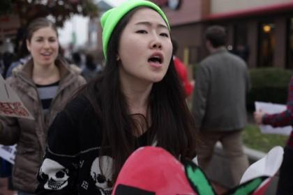 Johns Hopkins sophomore Sunny Kim