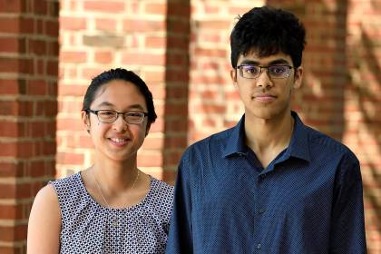 Kathy Le and Vinay Ayyappan