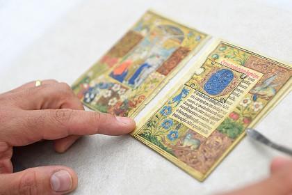 The Luneborch Prayer Book, an illuminated manuscript on vellum.