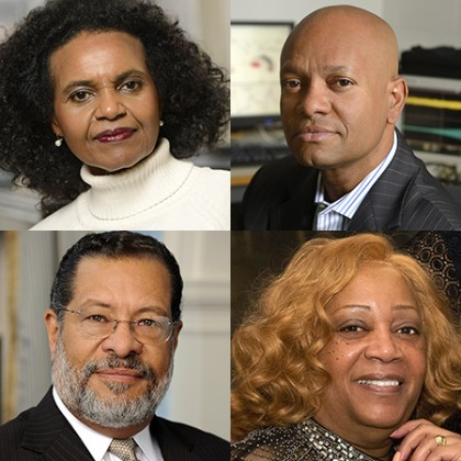 Devonna Rowe, Ralph Etienne-Cummings, Deborah Savage, and Erich March