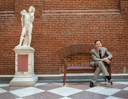 Fred Bronstein, dean of the Peabody Institute