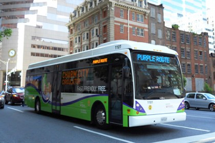 Charm City Circulator expands service north to JHU's Homewood campus on