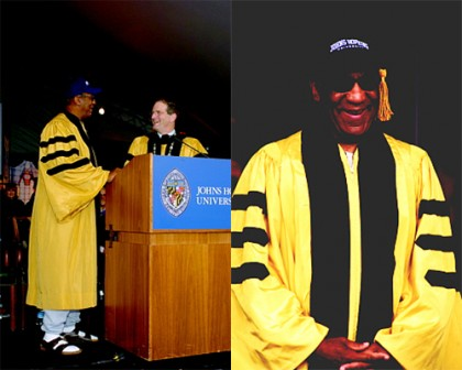 Bill Cosby at Johns Hopkins