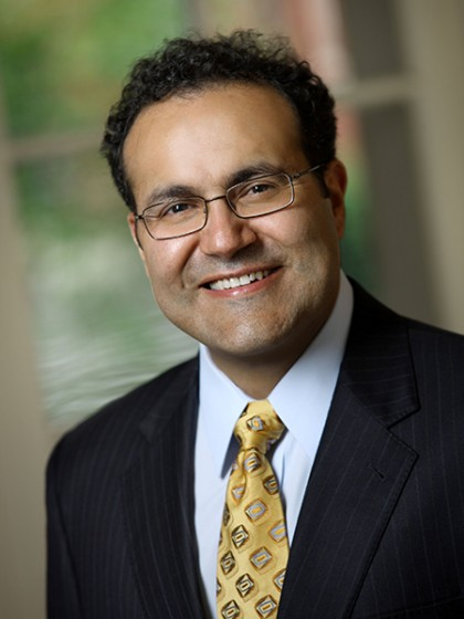Head shot photograph of Dr. Alfredo Quinones-Hinojosa