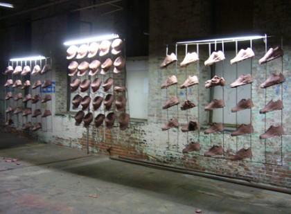 Mass production meets modern art in