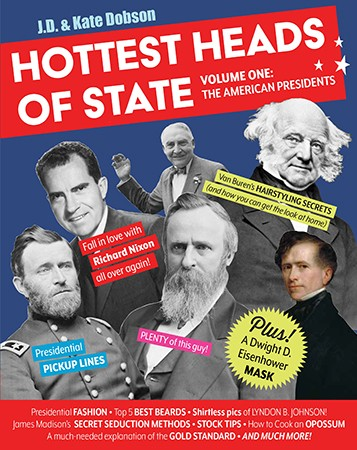 'Hottest Heads of State' book cover