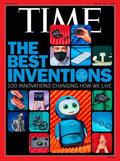 Cover of TIME's 100 best inventions issue