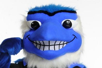 The Blue Jays mascot.
