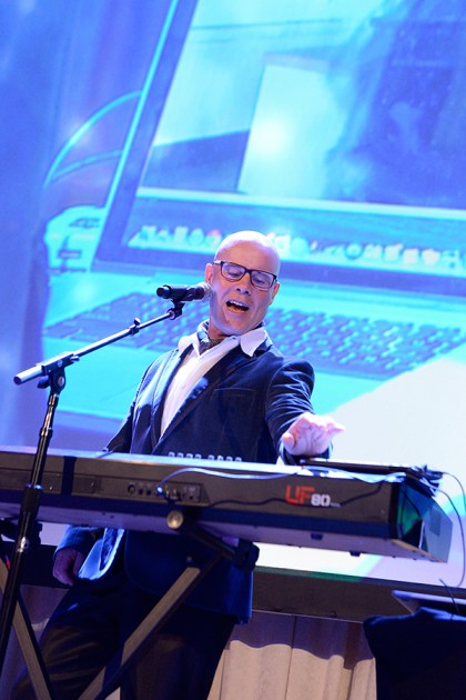 Thomas Dolby performs