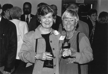 Nancy Norris-Kniffin and Binnie Bailey
