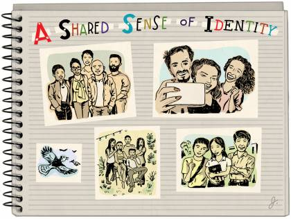 A shared sense of identity