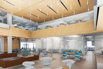 Nursing expansion, interior view (conceptual)