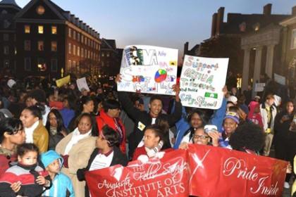 City schools funding rally