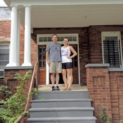 Alum Curt Carpenter with daughter Elaine