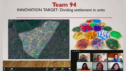 A virtual Zoom meeting during the CBID hackathon