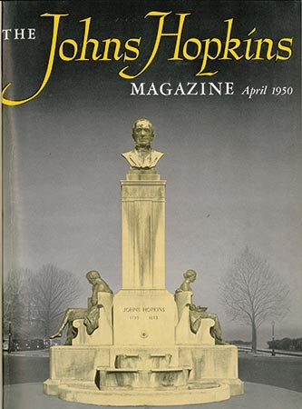 Cover image from the original Johns Hopkins Magazine