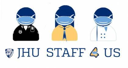 JHU Staff 4 Us logo