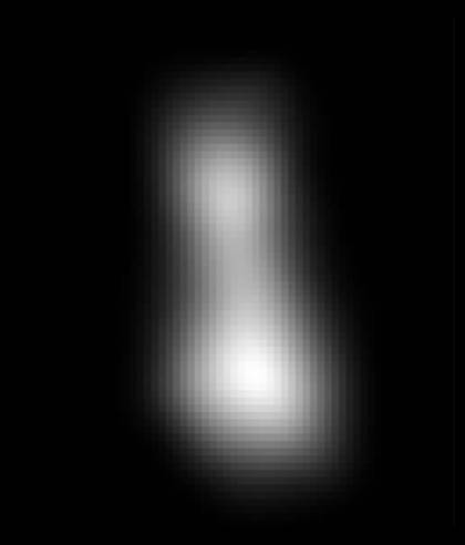 Ultima Thule composite image transmitted by New Horizons spacecraft
