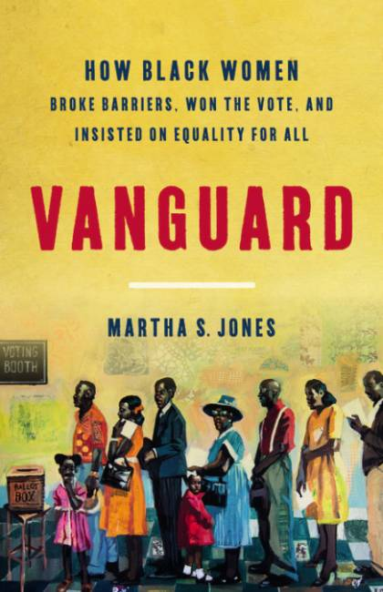 Book cover for 'Vanguard' by Martha Jones