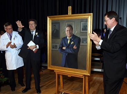 Levi Watkins portrait unveiled