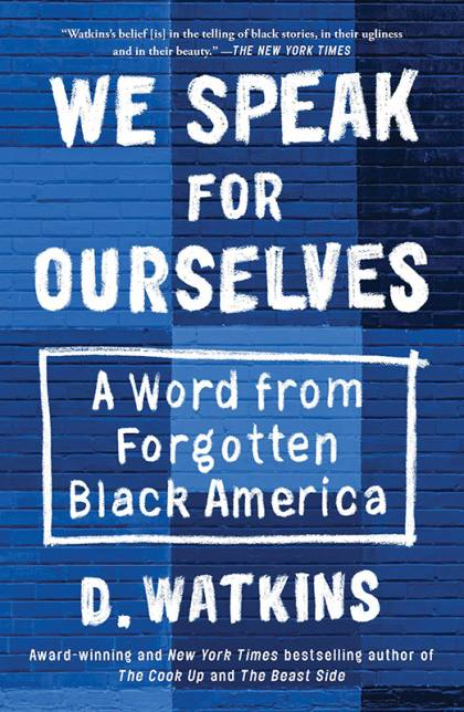 'We Speak for Ourselves' book cover