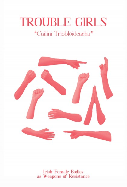 Cover of 'Trouble Girls' zine