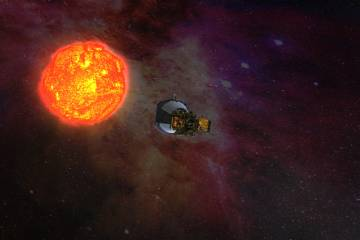 Artist's rendering of the Parker Solar Probe