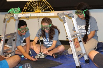 Mission impastable: Student engineers put spaghetti structures to
