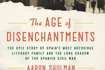 'The Age of Disenchantments' book cover