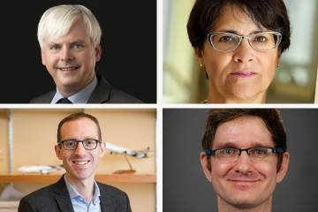 Henry Farrell, Martha S. Jones, Adam Seth Levine and Bryce Corrigan join the SNF Agora Institute as new faculty and lecturers