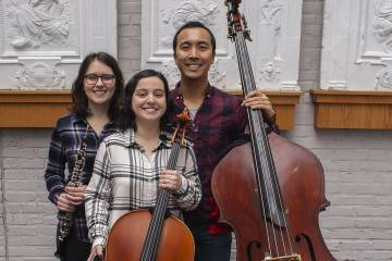 From The Hub: Peabody student trio headlines sensory-friendly concert for autistic listeners