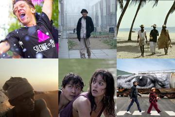 Screenshots of films screened in Tournées Film Festival