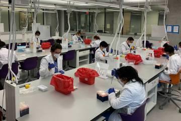 The Curative laboratory at George Washington University